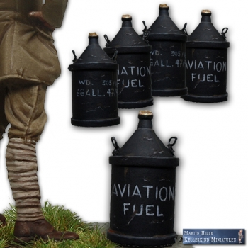 Aviation fuel cans, RFC